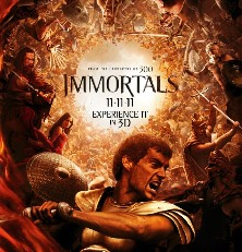 Immortals Starring Mickey Rourke – Movies To Watch Tonight Review