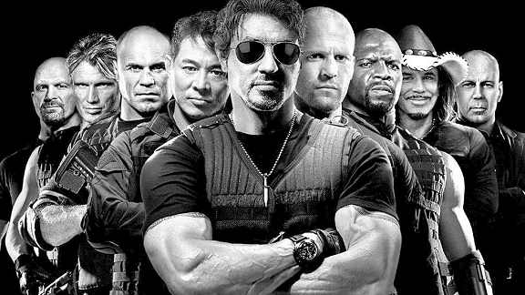 Lots Of Bit Parts For Well Known Actors in The Expendables 2